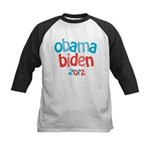 Obama Biden 2012 Kids Baseball Jersey