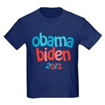 Obama Biden 2012 Kids Dark T-Shirt