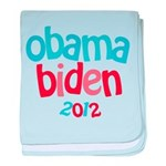 Obama Biden 2012 baby blanket