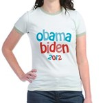 Obama Biden 2012 Jr. Ringer T-Shirt