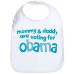 Mommy & Daddy Are Voting For Obama Bib