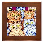 COOL CATS Framed Tile