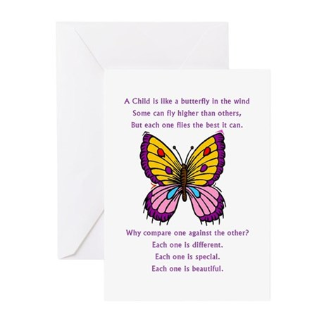 butterflypurple2.png Greeting Cards (Pk of 20)