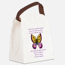 butterflypurple2.png Canvas Lunch Bag