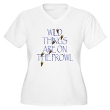 Wild Things Are On The Prowl T-Shirt