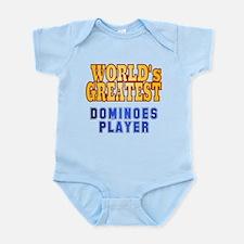 World's Greatest Dominoes Player Infant Bodysuit