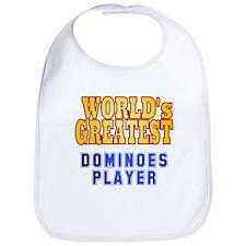 World's Greatest Dominoes Player Bib