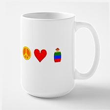 Peace Love Rodeo Clowns Mug