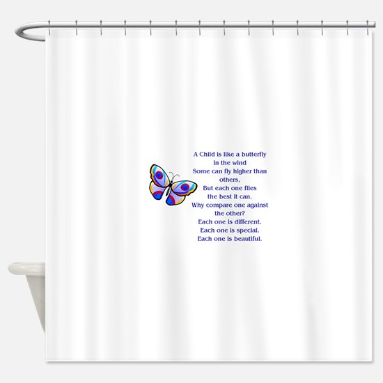 A Child Is Like a Butterfly....Beautiful Shower Cu