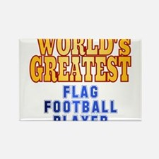 World's Greatest Flag Football Player Rectangle Ma