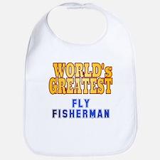 World's Greatest Fly Fisherman Bib