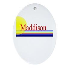 Maddison Oval Ornament