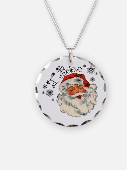 I believe in Santa Necklace