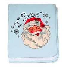 I believe in Santa baby blanket