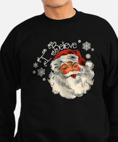 I believe in Santa Sweatshirt (dark)