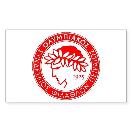 Olympiakos Sticker (Rectangle)
