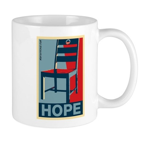 Obama - Hope and a Chair Mug