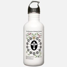 The Hierarchy of Orthodox Churches Water Bottle