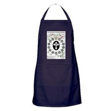 The Hierarchy of Orthodox Churches Apron (dark)