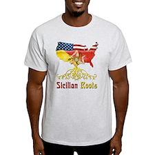 American Sicilian Roots T-Shirt