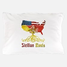 American Sicilian Roots Pillow Case