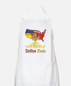 American Sicilian Roots Apron