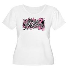 Breast Cancer Hope Garden T-Shirt