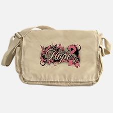 Breast Cancer Hope Garden Messenger Bag