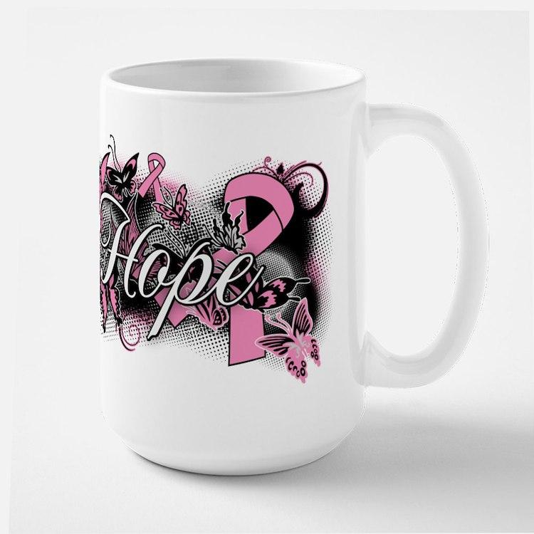 Breast Cancer Hope Garden Mug