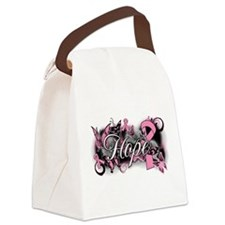 Breast Cancer Hope Garden Canvas Lunch Bag