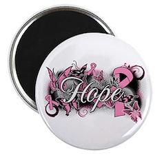 """Breast Cancer Hope Garden 2.25"""" Magnet (100 pack)"""