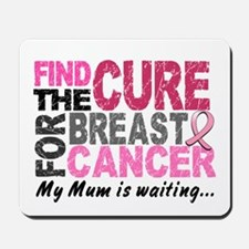 Find The Cure 1.2 Breast Cancer Mousepad