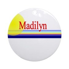 Madilyn Ornament (Round)