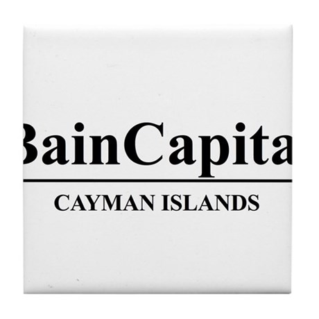 Bain Capital Cayman Islands Tile Coaster