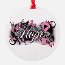 Breast Cancer Hope Garden Ornament