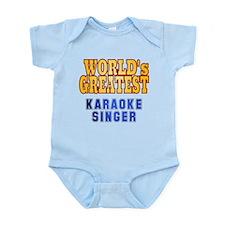 World's Greatest Karaoke Singer Infant Bodysuit