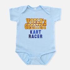 World's Greatest Kart Racer Infant Bodysuit