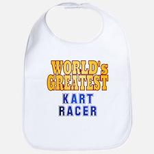 World's Greatest Kart Racer Bib