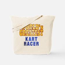 World's Greatest Kart Racer Tote Bag