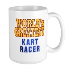 World's Greatest Kart Racer Mug