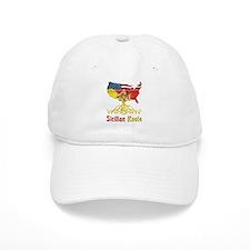 American Sicilian Roots Baseball Cap
