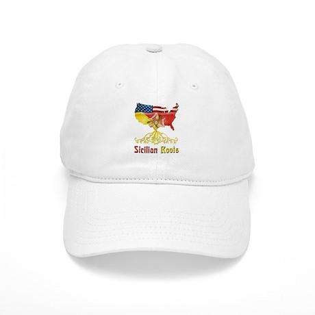 American Sicilian Roots Cap