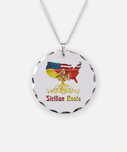 American Sicilian Roots Necklace
