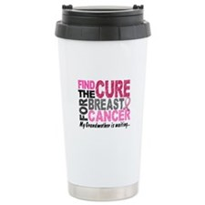 Find The Cure 1.2 Breast Cancer Travel Mug