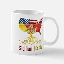 American Sicilian Roots Small Mugs