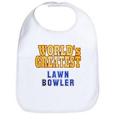 World's Greatest Lawn Bowler Bib