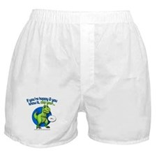 If Youre Happy Boxer Shorts