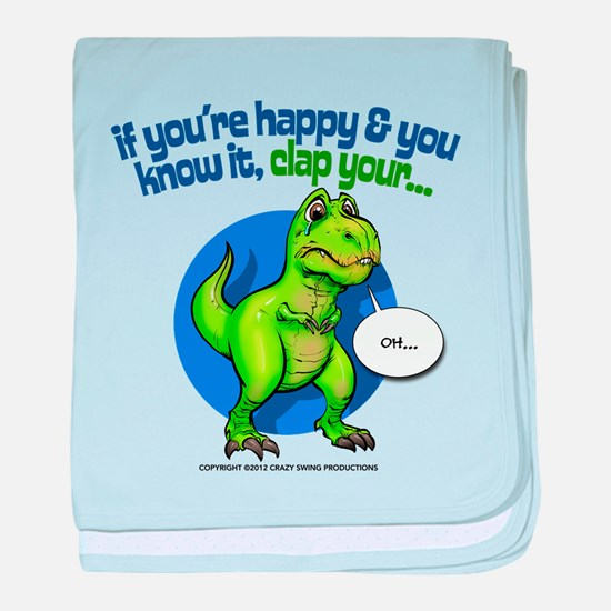 If Youre Happy baby blanket