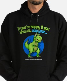 If youre happy Hoodie (dark)
