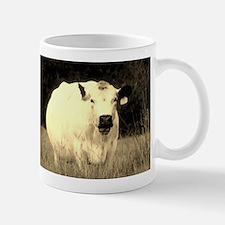 British White Cow at Pasture Mug